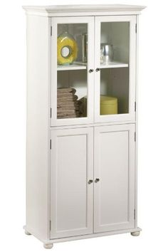 Home Decorators Collection 52 5 In H X 25 In W Linen Cabinet In White Linen Cabinet Home