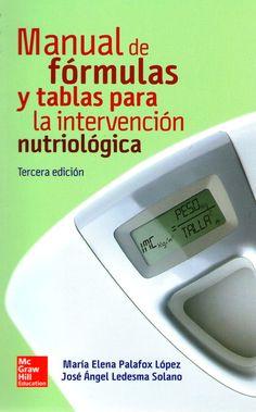 Ledesma. Manual de Formulas y Tablas para la Intervencion Nutriologica