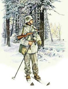 Finnish soldier.The Winter War-1939-1940
