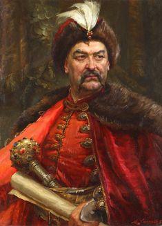 Богдан Хмельницкий  (1648-1657рр.) гетьман України - Bogdan Khmelnitsky (1648-1657) Ukrainian Hetman