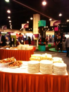 Strategically placed Xuber booth.. Right by the pizza! #IASA2013 #xuberUS