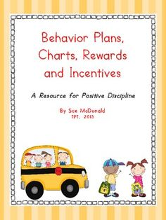 Behavior Management Bundle - Daily Behavior Plans, Charts,