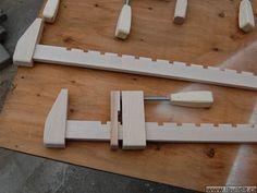 ibuildit wooden bar clamps
