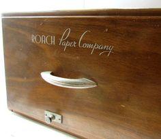 Dashing Vintage Toolbox Green Metal Vintage Flip Top Filing Box File Lockable With Key Other