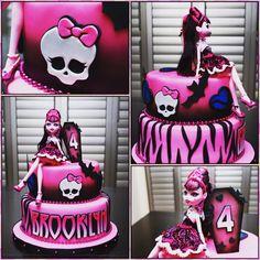 Monster High Draculaura cake                                                                                                                                                                                 More