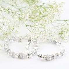 Sparkle bright in silver & white