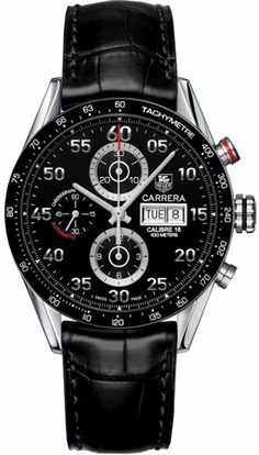 Tag Heuer Carrera (Leather Strap) $2500.00