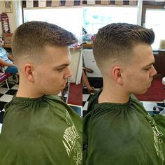 Apothecary 87's Manliest Of Man Blogs Medium Skin Fade, Classic Haircut, Haircut Styles, Ivy League, Pompadour, Apothecary, Barber, Haircuts, Clay