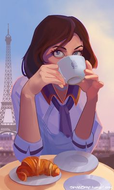 La Tour - Breakfast in Paris by MasterCheefs on deviantART