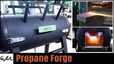 Making propane blacksmith forge