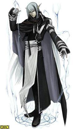 Elf sorceror