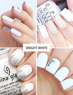 Bright White | Spring Nail Trends for 2015 | www.onefabday.com