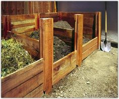 Building a Compost Bin: i would use composit lumbar cuz everything wooden rotts too fast where i live...