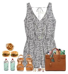 """""""Going to get lunch with my sister! (@shaylenmorgan)"""" by hopemarlee ❤ liked on Polyvore featuring Kate Spade, Victoria's Secret, H&M, Urban Decay, MICHAEL Michael Kors, tarte, Smashbox, Too Faced Cosmetics, Gianvito Rossi and Yves Saint Laurent"""