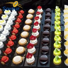 Johan Martin - Petit Gateaux - Savour Chocolate & Patisserie School - My WordPress Website Small Desserts, Fancy Desserts, Just Desserts, Mini Patisserie, Pastry Art, French Pastries, Mini Cakes, Plated Desserts, Beautiful Cakes