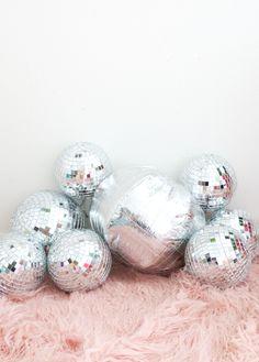DIY: disco ball pillow