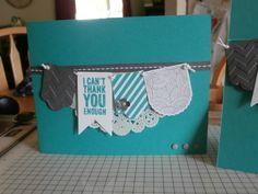 Stampin' Up! Chalk Talk  Hearts a Flutter weresocrafty.blogspot.com