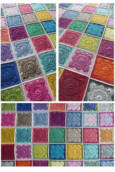 Annie's Place:  Willow Square blanket, great colors