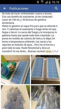 Ambientador armarios Cleaning Solutions, Cleaning Hacks, Bathroom Hacks, Small Bathroom, Natural Cleaners, Diy Cleaners, Home Hacks, Dremel, Clean House