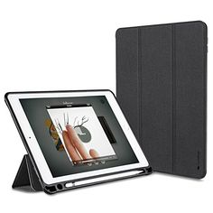 64386d528c3b iVAPO iPad Pro 9.7 Hülle Pencil Halter Premium PU  Amazon.de  Elektronik