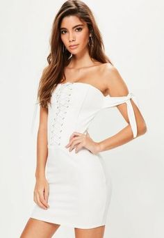 Robe bustier missguided