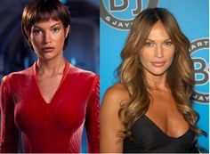 The Cast Of Star Trek Then & Now  Commander T'Pol – Jolene Blalock  Jolene Blalock was the latest addition to Star Trek: Enterprise. After the series, she had roles in several films as well as numerous appearances in hit TV shows.