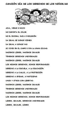 CANCIÓN LOS DERECHOS DE LOS NIÑOS Y NIÑAS Alien Pictures, School Jobs, Teaching Spanish, Elementary Schools, Paper Dolls, Knowledge, Teacher, Education, Ely