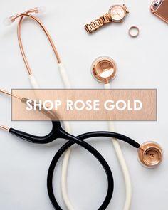 Rose Gold Stethoscopes