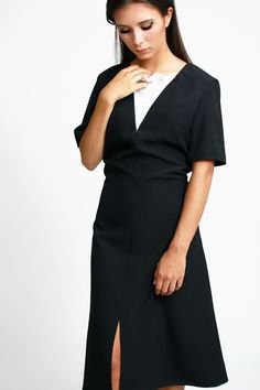 Vestido fiesta negro | Bluedale