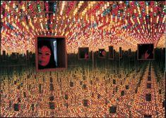 Yayoi Kusama Infinity Mirrored Room Love Forever 1966 remade 1994 Installation view  https://www.leddancefloor.info