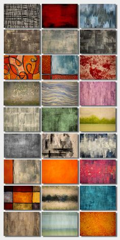 Royalty Free Textures for Commercial Use Without Attribution - Looking to add texture to your photos or artwork? These hand-painted, abstract backgrounds are perfect to use in your own art. They're large (5184 x 3456 px) and the details are amazing.  These stock photos are available at Shutterstock. #afflink #textures #shutterstock #abstract #background #artsandcrafts  #art