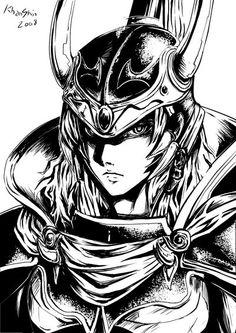 Dissidia: Warrior of Light by ~khanshin on deviantART