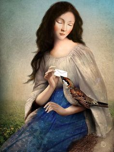 """ The Messenger "" by Christian Schloe"