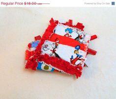 Dr Seuss ribbon blanket