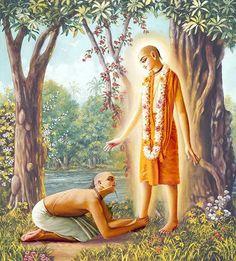 """Sanatana Goswami said, """"They think I am learned, but I don't know who I am—ke āmi?"""""""