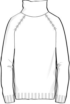 Soft indication of Knitwear don't forgot the detail sketch showing the underarm Flat Drawings, Flat Sketches, Dress Sketches, Technical Drawings, Fashion Design Template, Fashion Templates, Pattern Fashion, Fashion Design Portfolio, Fashion Design Sketches
