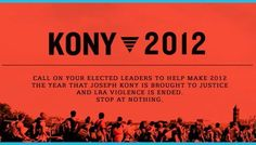 Stop Kony!!! watch the video and find out what it is all about and support at kony2012.com Repin if you support...