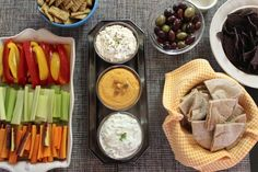Host a Greek-themed dinner for your next party!