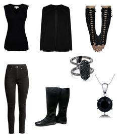 """""""#rogue the queens assassin"""" by drey-harper on Polyvore featuring Christian Louboutin, Velvet by Graham & Spencer, Boohoo and Kendra Scott"""