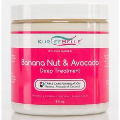 Kurlee Belle Banana Nut and Avocado Deep Treatment 8oz -- Click on the image for additional details.