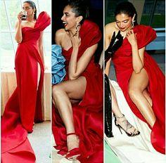 Deepika in red Bollywood Actress Hot Photos, Indian Bollywood Actress, Beautiful Bollywood Actress, Most Beautiful Indian Actress, Bollywood Celebrities, Bollywood Fashion, Beautiful Actresses, Indian Actresses, Kareena Kapoor Pics