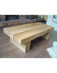 Oak Coffee Table solid dark oak square coffee table | stage design | pinterest
