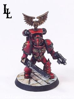 Day of Revelations; Blood Angel 30K Heresy Army Commission ~ LilLegend Commission Painting Studio