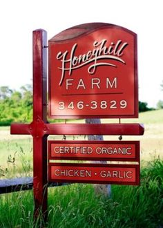 Honeyhill Farm is a diversified small family farm in Livonia, a hamlet in the Finger Lakes Region of Upstate New York. Honeyhill produces organic chickens, grassfed beef, garlic and a select set of mixed vegetables including heirloom tomatoes