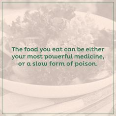 What are you feeding your body?