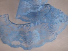 gold//white Satin Floral Ruffle Lace Trim 1 1//4 inch wide 1 yard and 23 inch cut