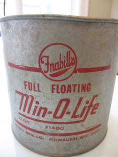 Vintage Minnow Bucket by MemphisNanney on Etsy, $22.50
