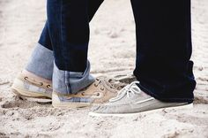 My blue jeans and Sperry's