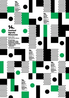 Edgar Bąk on Behance Graphic Design Posters, Graphic Patterns, Graphic Design Illustration, Graphic Design Inspiration, Typography Design, Geometric Graphic Design, Collage Illustration, Game Design, Layout Design