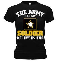 The Army Has My Soldier but I have His Heart .